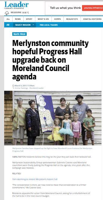 Moreland Lead March 9 2015